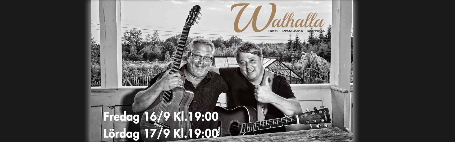 """""""Körberg"""" och """"vreeswijk"""" på Hotel Walhalla i Mörrum"""
